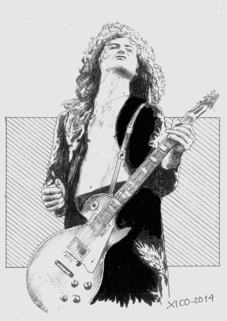 Jimmy Page par FCARLOS